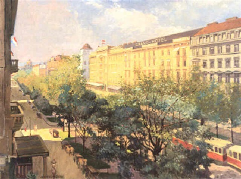 das grand hotel am kärtnerring by anton hans karlinsky