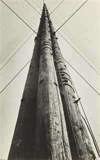 untitled (electric pole) by alexander rodchenko