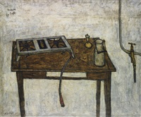 nature morte au réchaud à gaz by bernard buffet