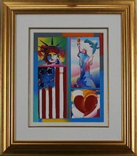 liberty series to libertie by peter max