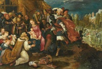 the adoration of the magi by kaspar (jasper) van den hoecke