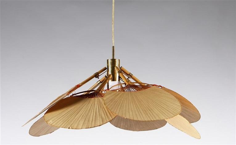 Lampadario modello uchiwa uchiwa chandelier by ingo maurer for Ingo maurer lampadario