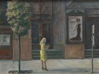 carnegie hall bus stop by clyde singer