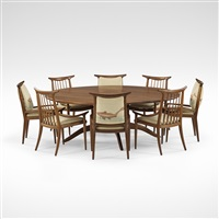 important dining set by sam maloof