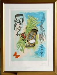 the overseer (from the ivanhoe suite) by salvador dalí