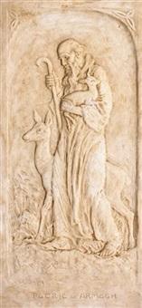 saint patrick at armagh by sophia rosamund praeger