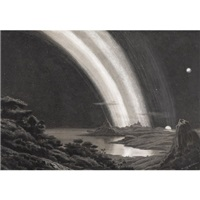 saturn landscape by jean van muyden
