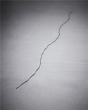six wire run by carl andre
