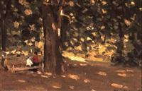 jour d'automne by eugene markov