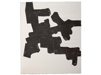 meditation in kastilien (bk by max holzer w/7 works, folio) by eduardo chillida
