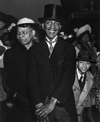 easter sunday, harlem by weegee