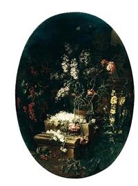 natura morta di fiori by giuseppe vicenzino