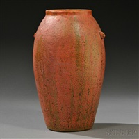 vase by merrimac pottery