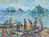 retour de pêche by désiré kayamba