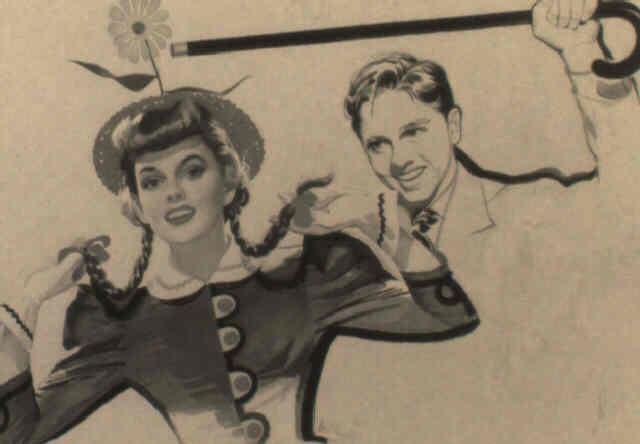 Judy Garland And Mickey Rooney Dancing