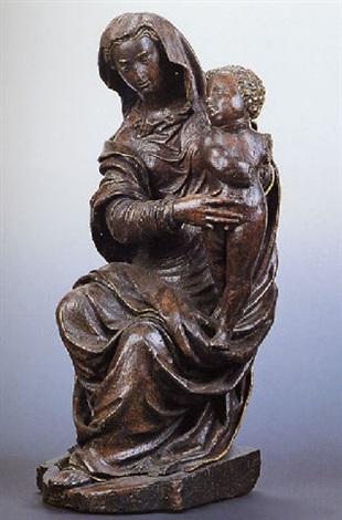 madonna col bambino in trono by jacopo sansovino