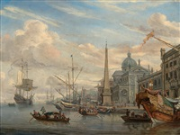 view from the port by abraham jansz storck