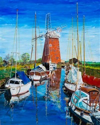 horsey mill, norfolk by doug scott