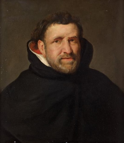 portrait du frère dominicain michael ophovius by sir peter paul rubens