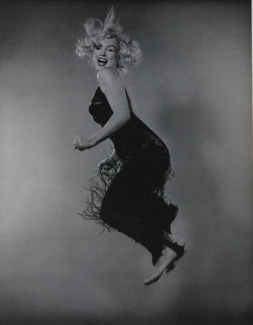 marilyn monroe jumping by philippe halsman