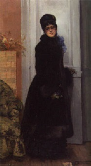 at the doorway by rodolphe piguet