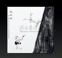 鹤梅图 by xu feiyan