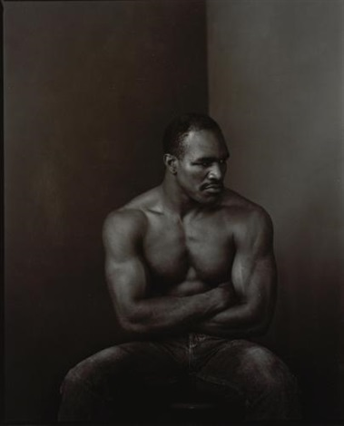 evander holyfield new york by annie leibovitz