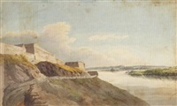 cape diamond, quebec by benjamin (major-general) fisher