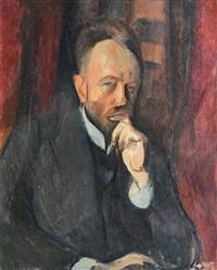 portrait of nathanael jünger by franz nölken