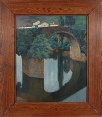 le pont de bidarray by jean rigaud