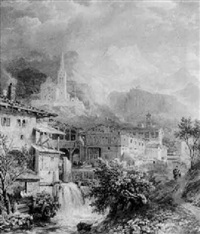 view of innsbruck by henry gastineau
