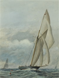 champion yacht britannia by james avon smith