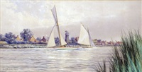 yacht-racing on the norfolk broads by stephen john batchelder