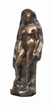 woman (figure with background) by gaston lachaise