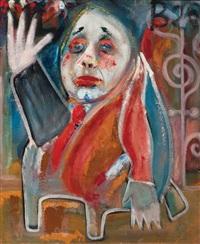 composition (+ figure, verso) by wim de haan