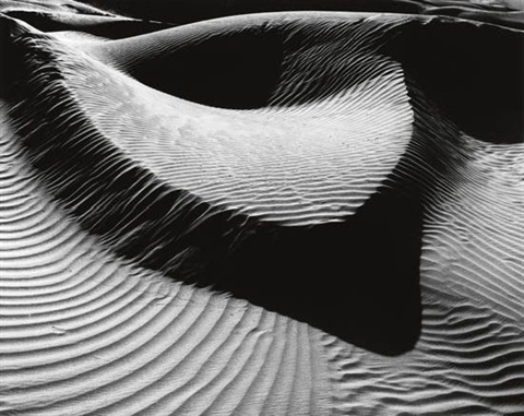 dunes by brett weston