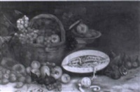 bodegón de frutas by lino casimiro iborra