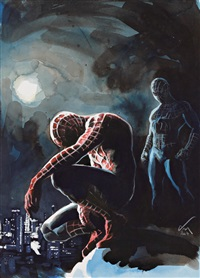 spiderman double by christian de metter