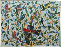 birds in tree by gesner abelard