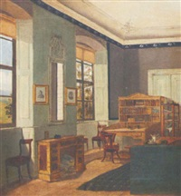 intérieur de bureau by julius muller
