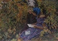 reading a letter by vyacheslav fyodorov