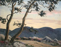 wicklow landscape by mabel young