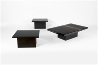 paire de tables d'appoint (pair) by christian krekels