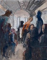 straßenbahn, 2er linie by georg eisler