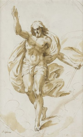 the risen christ by pieter abrahamsz ykens