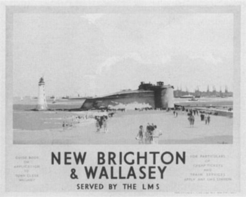 new brighton and wallasey by claude buckle