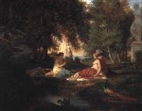 paysage élégiaque by octave alfred saunier