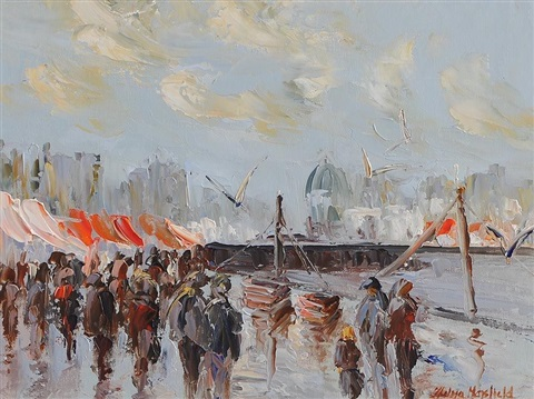the fish market galway by thelma mansfield
