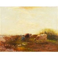 milking time by willem maris