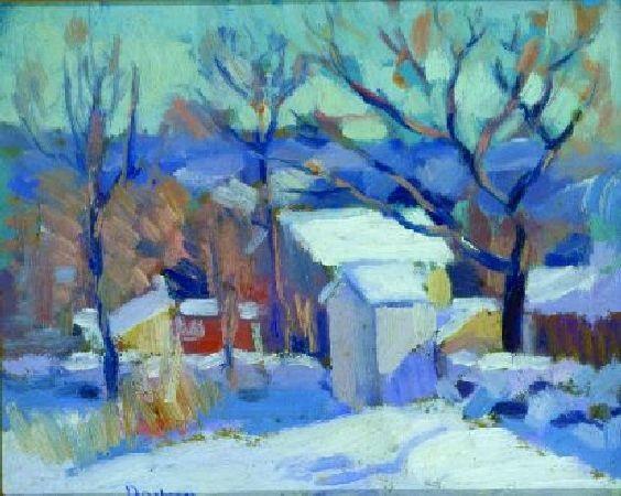 farm in winter by andrew michael dasburg